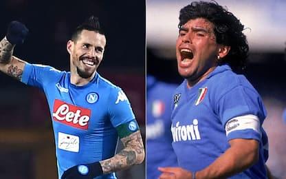 Hamsik, finalmente! Come Diego, 115 gol col Napoli