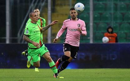 Il Palermo rischia a Cesena. Che sfida Bari-Parma