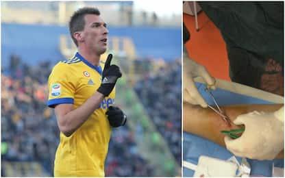 13 punti di sutura per Mandzukic: Roma a rischio