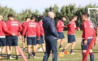 Crotone, Nalini in dubbio per l'Udinese