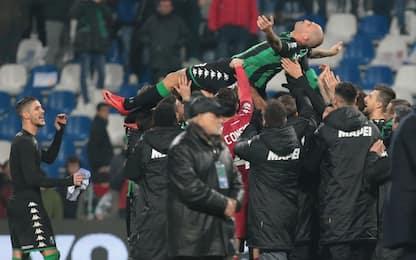 Cannavaro saluta: lacrime e festa al Mapei Stadium