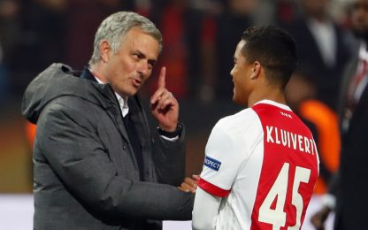Mou strizza l'occhio a Kluivert Jr: futuro United?
