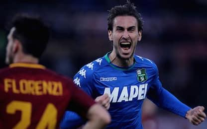 Roma, Pellegrini non basta: 1-1 col Sassuolo