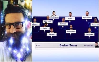 Il club dei Moscardelli: la top 11 delle barbe