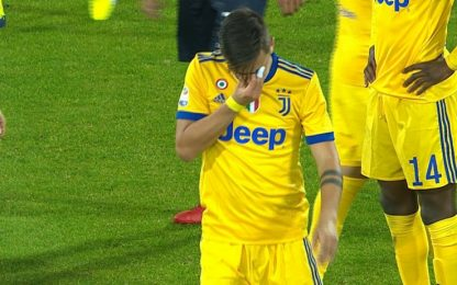 "Caressa: ""Infortunio Dybala non danneggia Juve"""