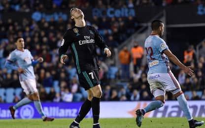 Real Madrid, Bale non basta: 2-2 contro il Celta