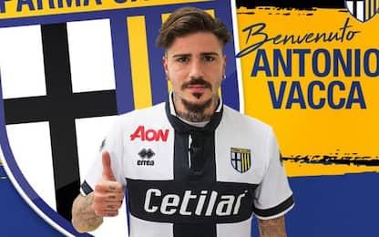 Parma, ufficiale Vacca. Corapi al Trapani
