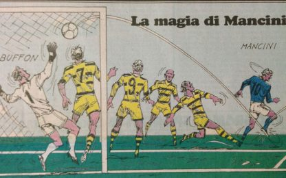 Accadde oggi: il tacco magico di Mancini al Parma