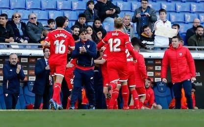 Montella, prima gioia: Siviglia batte Espanyol