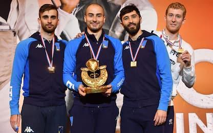Coppa mondo fioretto, vince Foconi: podio azzurro