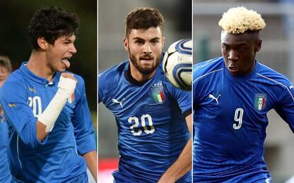 Pellegri, Cutrone, Kean: l'Italia guarda al futuro