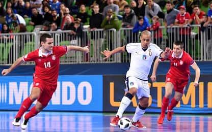 Italia-Serbia 1-1: la Slovenia per passare
