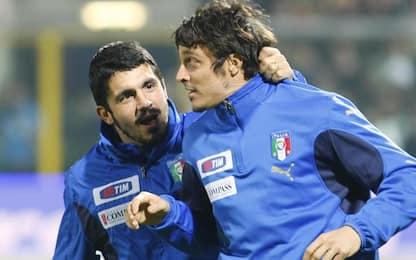 """Oddo-Gattuso: vecchi compagni di storie """"Mondiali"""""""