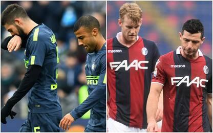 Inter-Bologna, a San Siro è sfida tra due crisi