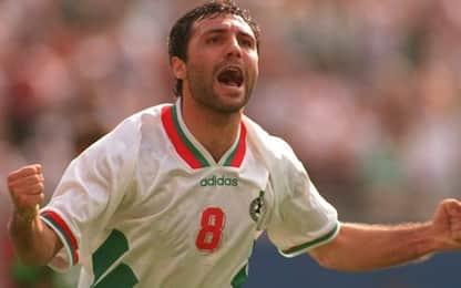 Stoichkov, 52 anni da simbolo del calcio bulgaro