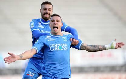 Stop Frosinone, l'Empoli lo raggiunge in vetta