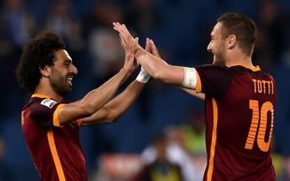 """Totti esalta Salah: """"Tra i migliori al mondo"""""""