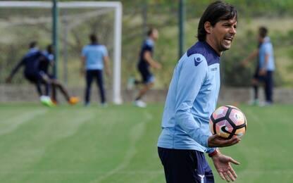 Lazio, squadra in palestra: c'è la Coppa Italia