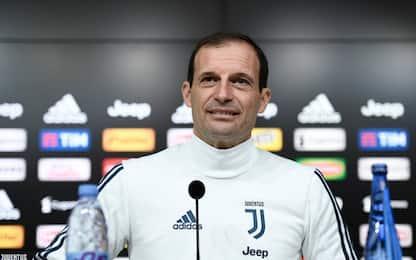 "Allegri: ""Udinese snodo scudetto, gioca Szczesny"""