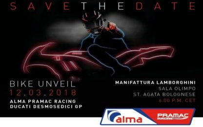 La Ducati Pramac si presenta: orari e streaming