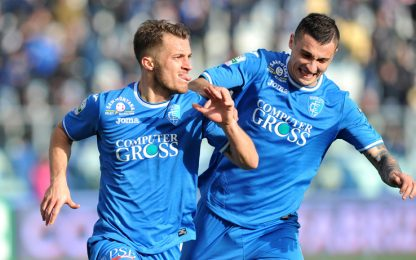 Empoli in fuga, Palermo beffato. Super Perugia