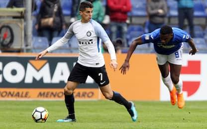 Inter, 5 azioni di Cancelo contro la Sampdoria