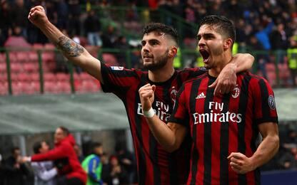 Milan-Chievo, pazzesco 3-2: decide André Silva