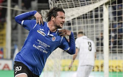 Maniero affonda il Cesena: vince il Novara 1-0