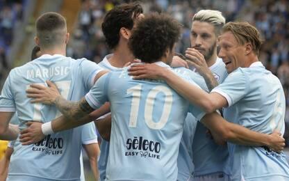 Game set e match Lazio: 6-2 esagerato al Benevento