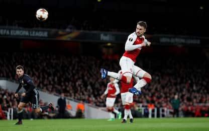 Arsenal a valanga, vincono Atletico e Lipsia