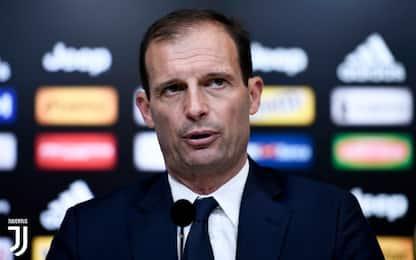"""Allegri: """"Futuro? Sto bene alla Juventus"""""""