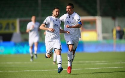 Pro Vercelli-Novara 0-0, Cesena-Entella 3-0