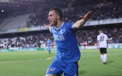 Empoli da record, il Frosinone stacca il Palermo