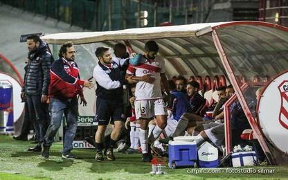 Serie B, Carpi: Capela torna in gruppo