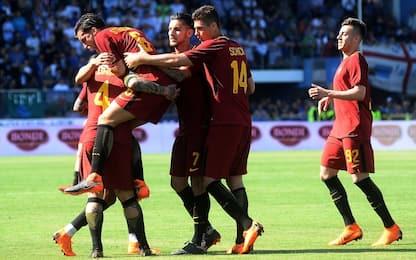 La Roma batte la Spal 3-0, si sblocca Schick