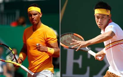 Nadal-Nishikori, la finale che sorprende a metà