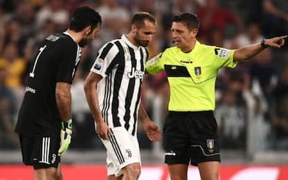 Chiellini, lesione muscolare: salta l'Inter
