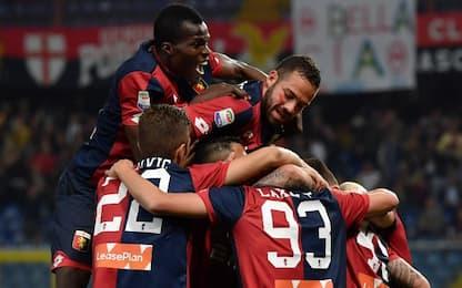 Il Genoa batte il Verona 3-1, salvezza a 1 punto