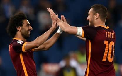 """Totti: """"Esplosione Salah? Merito di Klopp"""""""