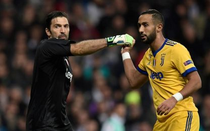 "Juve, Buffon: ""Nessuna lite con Benatia"""