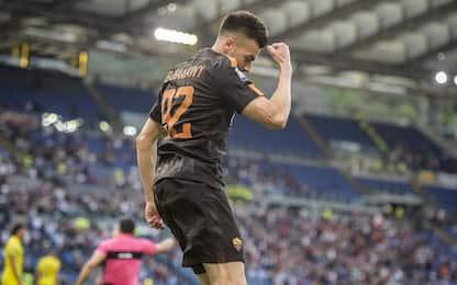 Roma-Chievo, gol capolavoro di El Shaarawy