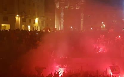 Il Lecce torna in B, è festa giallorossa