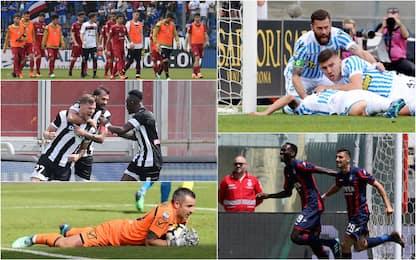 Serie A, il punto sulla lotta salvezza