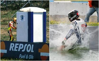 Da Rossi a Lorenzo, quante esultanze pazze a Jerez