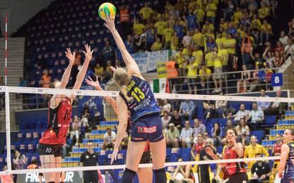 Champions donne: Conegliano si ferma al tie-break