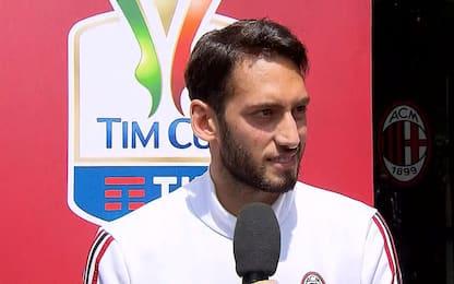 """Calha: """"Grazie Gattuso, Juve? possiamo vincere"""""""