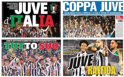 """""""Coppa Juve"""", """"Tutto suo"""": rassegna stampa"""
