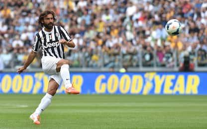 I 5 gol più belli di Pirlo. Ma non su punizione