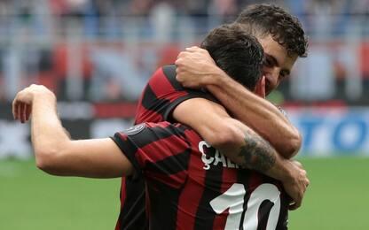 Calha-Cutrone, Fiorentina dominata 5-1. Milan 6°