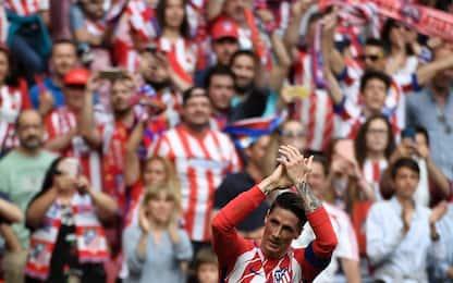 Torres da sogno, addio all'Atletico con doppietta